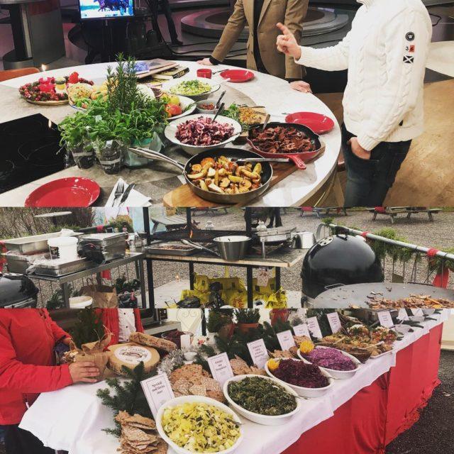 Julmarknad p Fjrilshuset mat i tv4 igr  kom ochhellip
