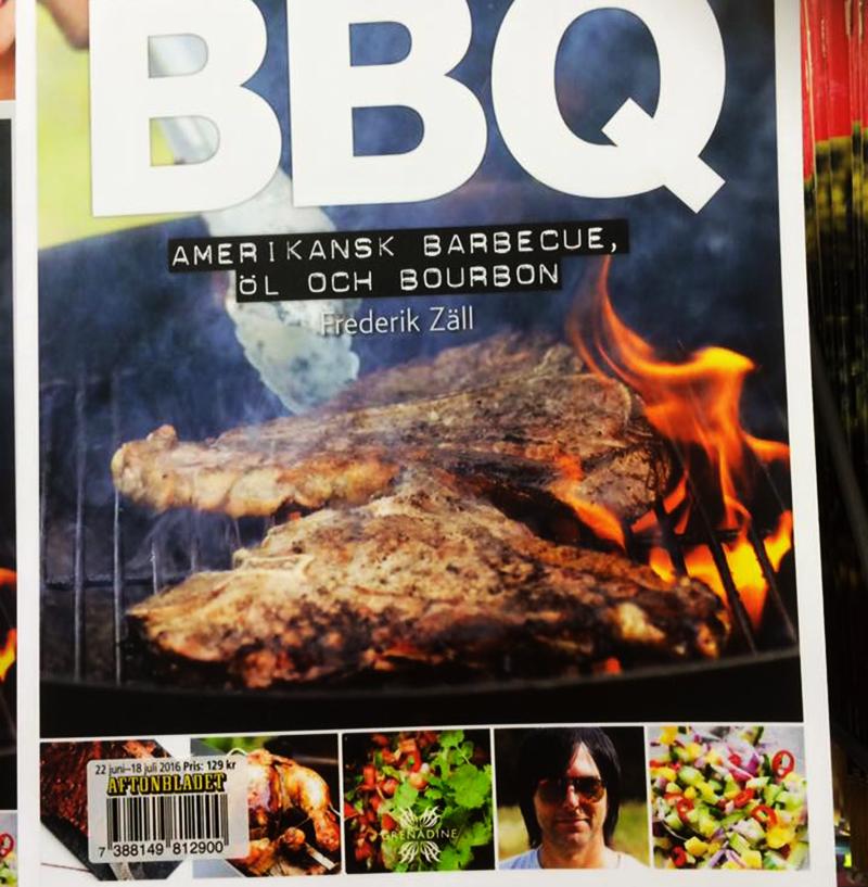 bbq, aftonbladet. lyxlagat, frederik zäll, kokbok