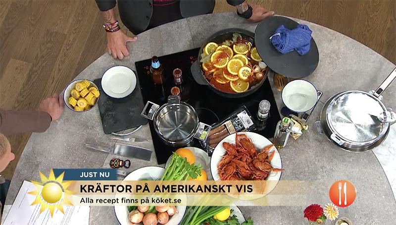Frederik, Lyxlagat, TV4, nyhetsmorgon 1
