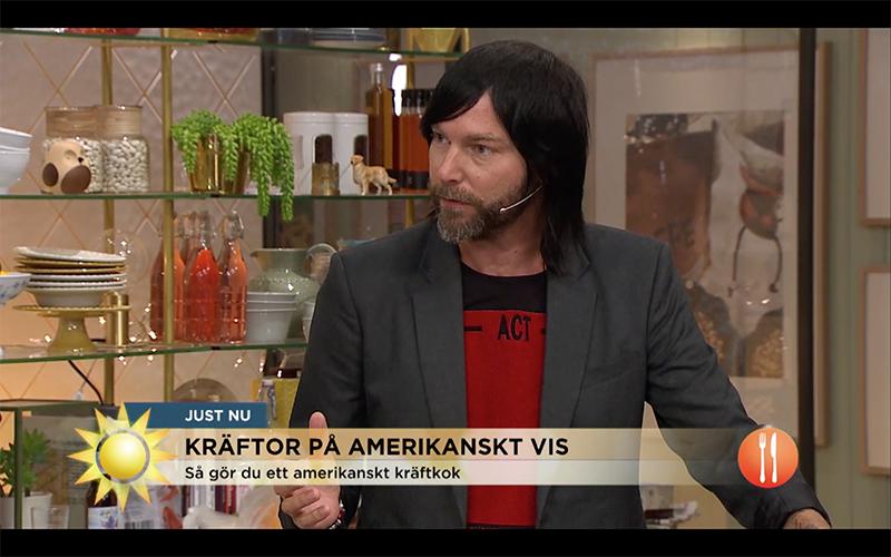 Frederik, Lyxlagat, TV4, nyhetsmorgon
