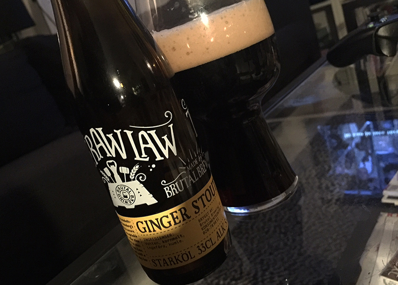 brutal ginger stout