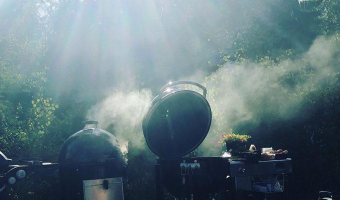 Sol, sommar och ingen grillning på länge…